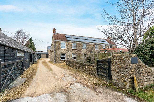 Thumbnail Farmhouse for sale in The Fox, Purton, Swindon