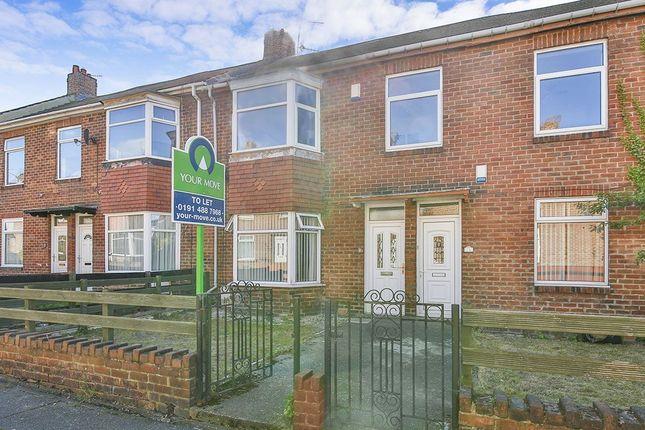 Thumbnail Flat to rent in Baker Gardens, Dunston, Gateshead