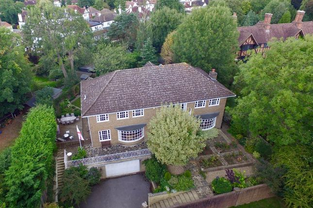 Thumbnail Detached house for sale in Bridleways, Woodcote Green Road, Epsom
