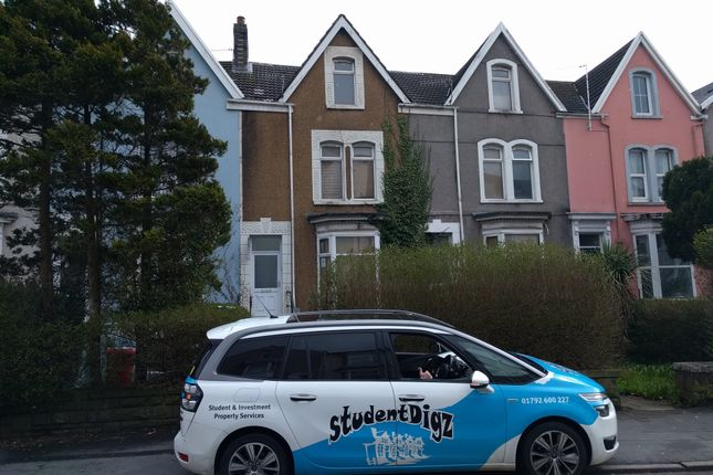 Thumbnail Property to rent in King Edward Road, Brynmill, Swansea