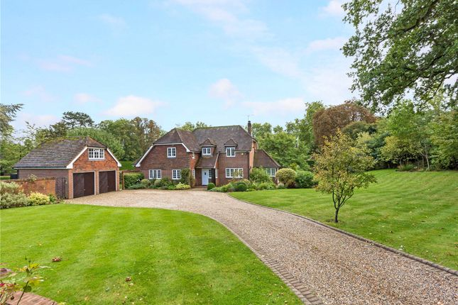 Thumbnail Detached house for sale in Burchetts Green Road, Littlewick Green, Maidenhead, Berkshire