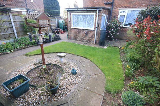 Rear Garden of The Boulevard, Edenthorpe, Doncaster DN3