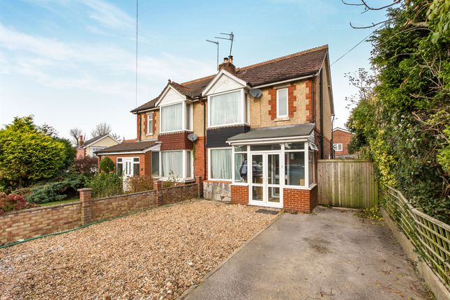 Thumbnail Semi-detached house for sale in Park Road, Purbrook, Waterlooville