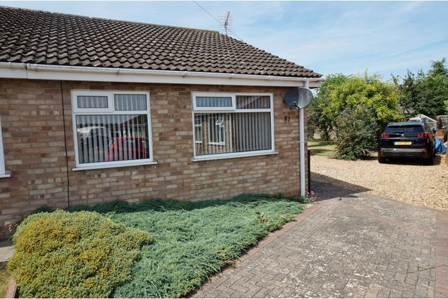 Thumbnail Semi-detached bungalow for sale in Norman Way, Irchester