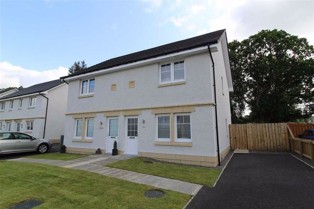 Thumbnail Semi-detached house for sale in 11, Sgriodan Crescent, North Kessock