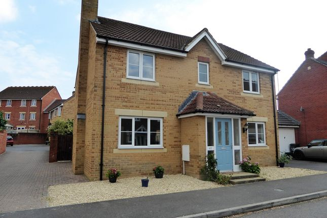 Thumbnail Detached house for sale in Merevale Way, Yeovil