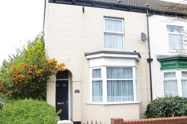 Thumbnail End terrace house for sale in Alexandra Road, Newland Avenue, Hull