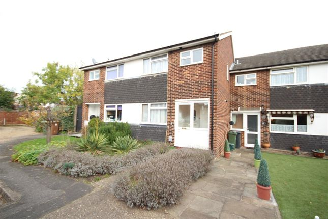 Thumbnail Terraced house to rent in Belvedere Close, Guildford