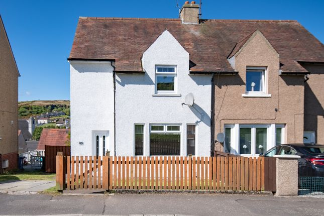 Thumbnail 2 bedroom semi-detached house for sale in Westmorland Road, Greenock