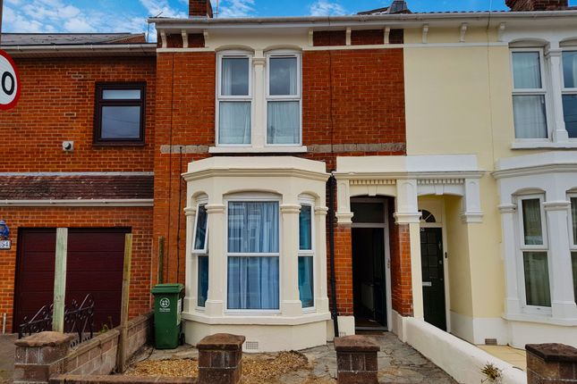 Thumbnail Terraced house to rent in Francis Avenue, Southsea