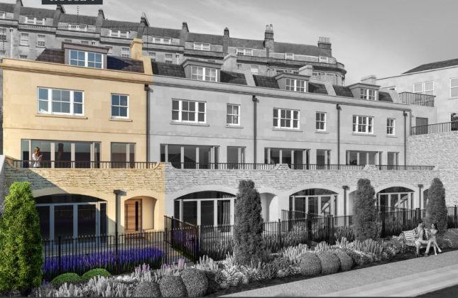 Thumbnail Town house for sale in Hope House, Lansdown Road, Bath