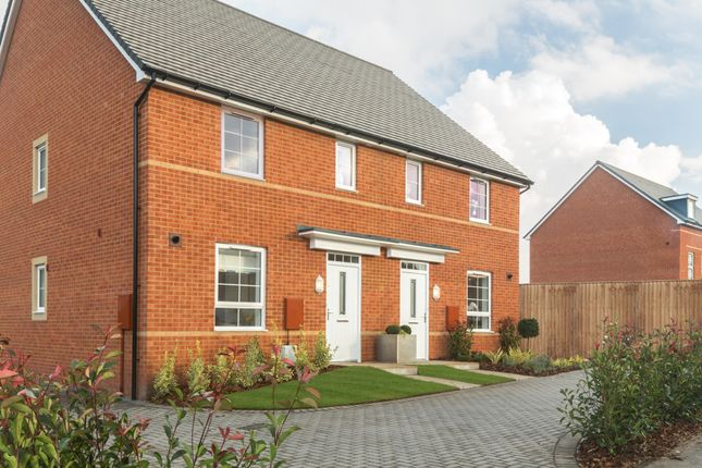 "Thumbnail Semi-detached house for sale in ""Ashworth"" at Botley Road, Southampton"
