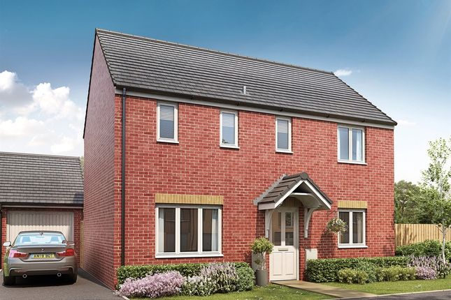 "Thumbnail Detached house for sale in ""The Clayton"" at Hartburn, Morpeth"