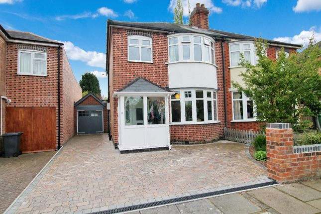 3 bed semi-detached house for sale in Wyndale Road, Knighton, Leicester