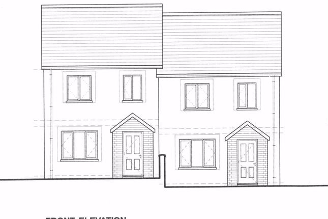 Thumbnail Semi-detached house for sale in Bowett Close, Hundleton, Pembroke