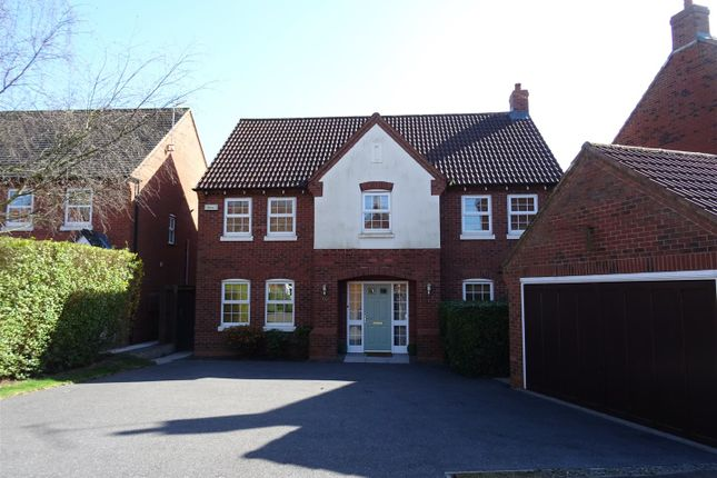 Thumbnail Detached house for sale in Windmill Close, Ravenstone, Leicestershire