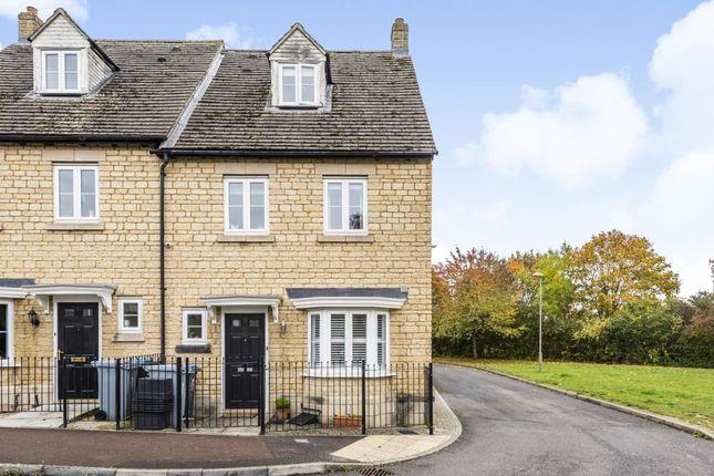 Thumbnail Semi-detached house for sale in Shilton Park, Carterton, Oxfordshire