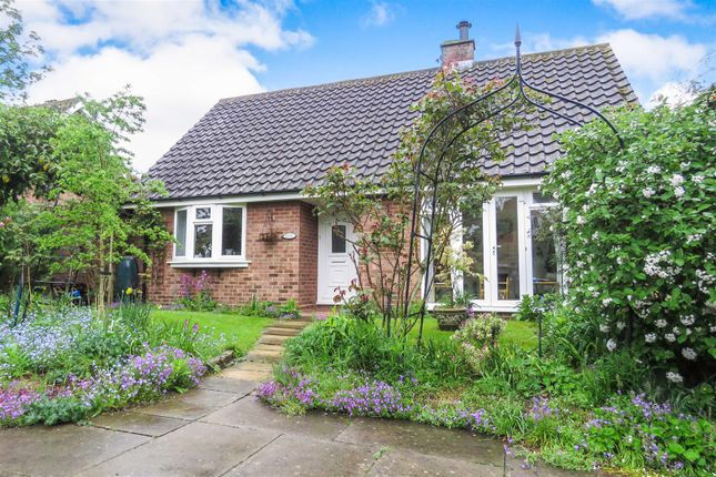 Thumbnail Detached bungalow for sale in Manor Court, Blunham, Bedford