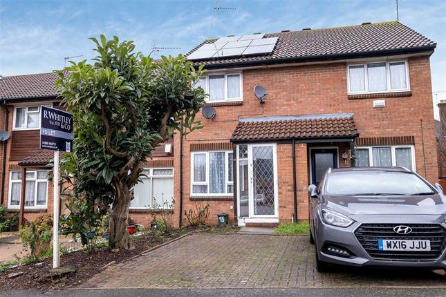 Thumbnail Terraced house to rent in Pippins Close, West Drayton, Middlesex