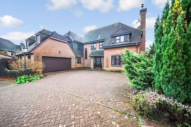 Thumbnail Detached house for sale in The Mount, Lisvane, Cardiff