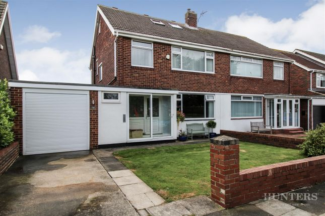 Thumbnail 4 bed semi-detached house for sale in Lonsdale Avenue, South Bents, Sunderland