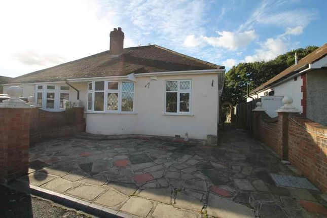 Thumbnail Semi-detached bungalow to rent in Priory Drive, London
