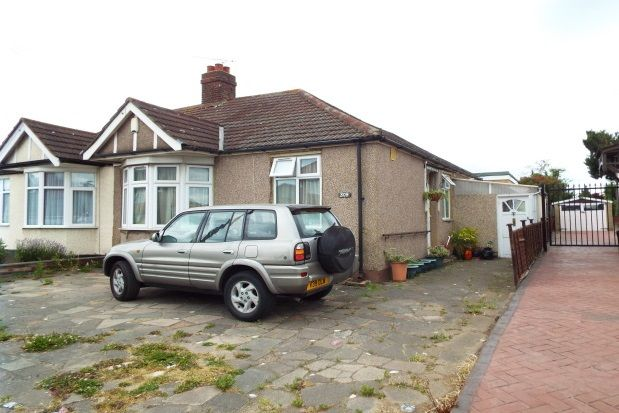Thumbnail Bungalow to rent in New North Road, Ilford