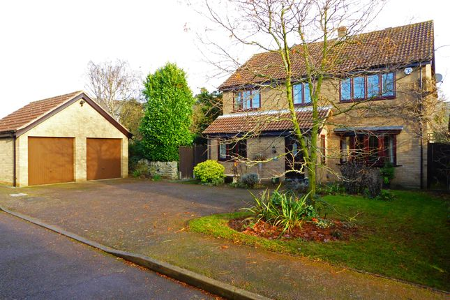 Thumbnail Detached house for sale in Grove Court, Turvey, Bedford