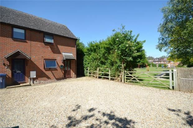 Thumbnail End terrace house for sale in Queens Row, Duxford, Cambridge