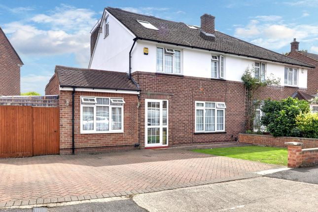 Thumbnail Semi-detached house for sale in Lodge Close, Cowley, Middlesex