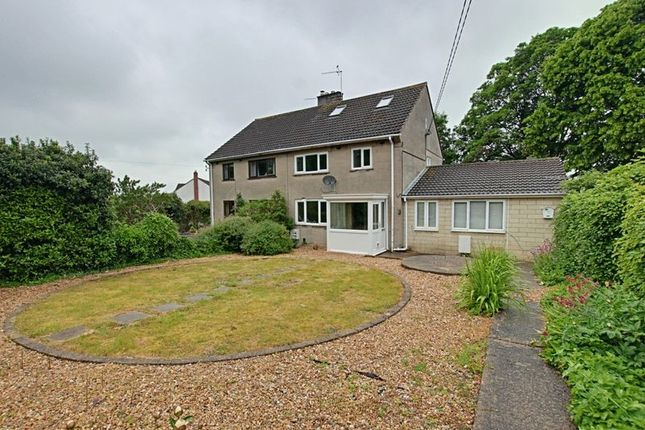 Thumbnail Semi-detached house to rent in Stancomb Avenue, Trowbridge