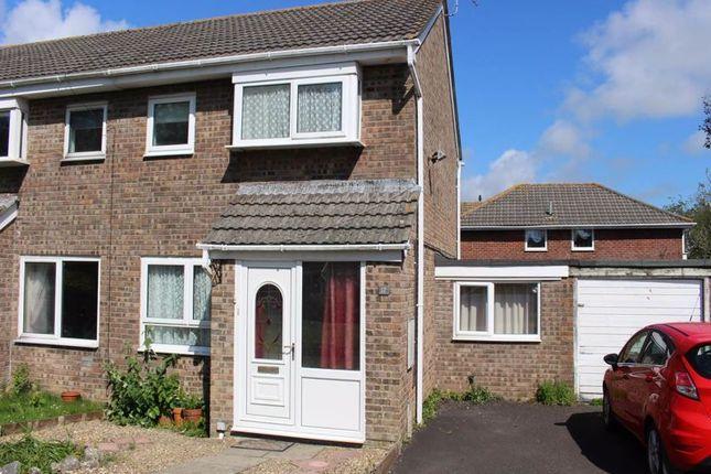 Thumbnail Semi-detached house for sale in Harding Close, Boverton, Llantwit Major