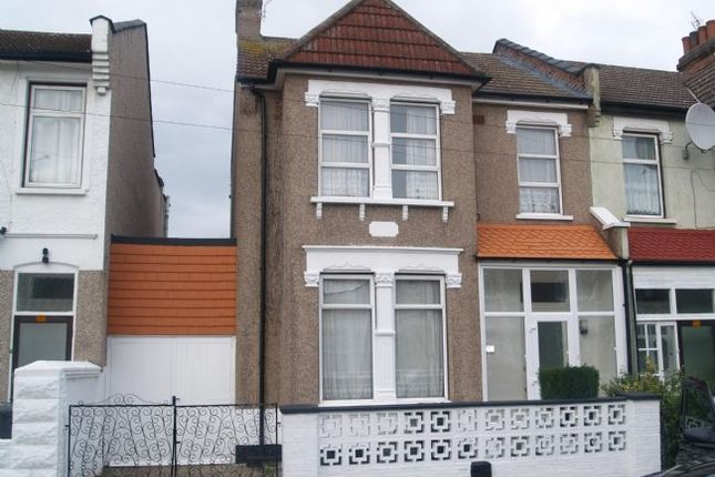 Thumbnail End terrace house to rent in Boundary Road, London