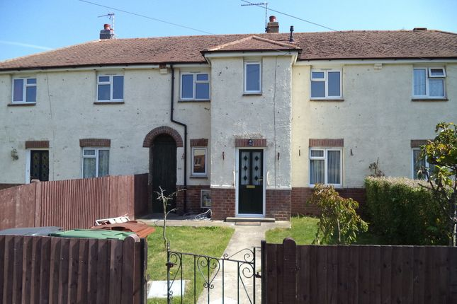 3 bed terraced house to rent in Knoll Crescent, Hampden Park, Eastbourne BN22