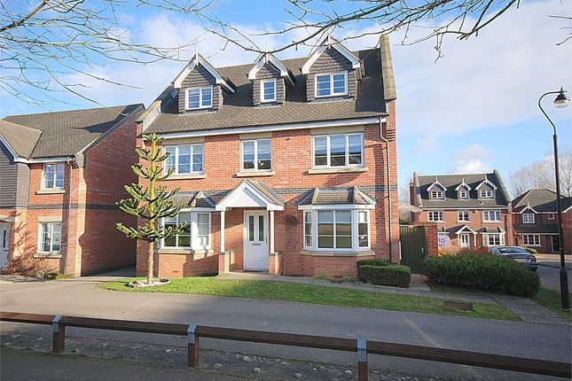 Thumbnail Detached house for sale in Bluebell Rise, Grange Park, Northampton