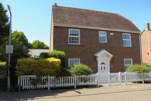 Thumbnail Detached house to rent in Badgers Oak, Ashford, Kent