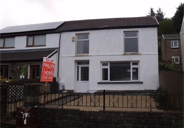 Thumbnail End terrace house to rent in Pleasant View, Pentre, Rhondda Cynon Taff