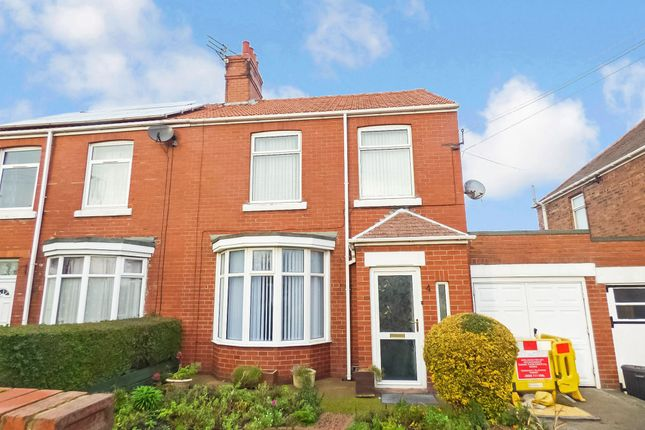 Thumbnail Semi-detached house to rent in Moorland Avenue, Bedlington