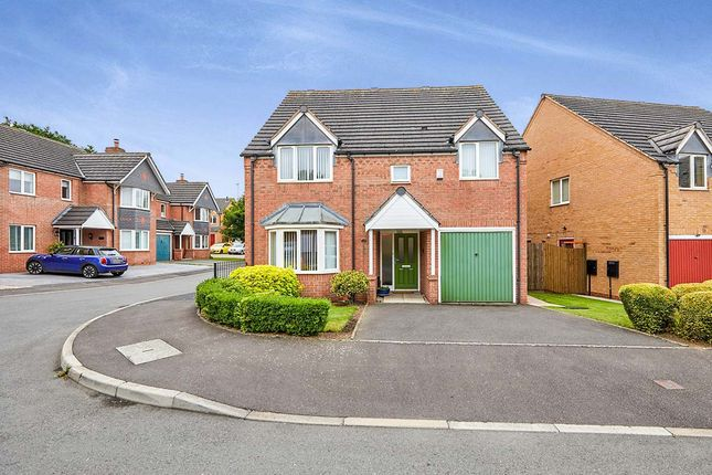 Thumbnail Detached house for sale in Woods Lane, Burton-On-Trent, Staffordshire