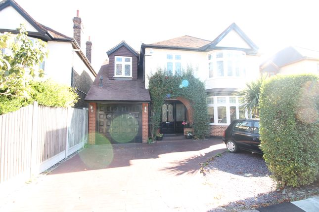 Thumbnail Detached house to rent in Crossways, Gidea Park, Romford, Essex