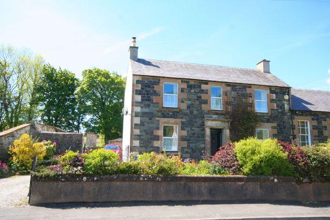 Thumbnail Semi-detached house for sale in Carsphairn, Castle Douglas