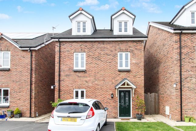 Thumbnail Town house for sale in Sol Invictus Place, Caerleon, Newport