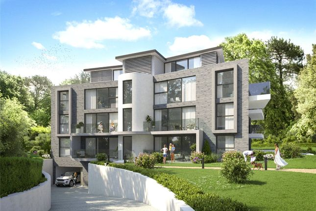 Thumbnail Flat for sale in Martello Road South, Canford Cliffs, Poole, Dorset