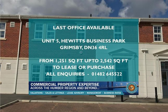 Office for sale in Unit 5, Hewitts Business Park, Blossom Avenue, Humberston, Grimsby, North East Lincolnshire
