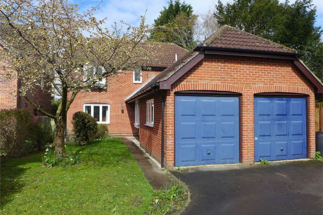 Thumbnail Detached house to rent in Barberry Close, Church Crookham, Fleet