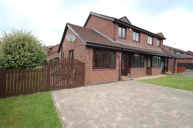 Thumbnail Semi-detached house for sale in Annandale Way, Girdle Toll, Irvine, North Ayrshire