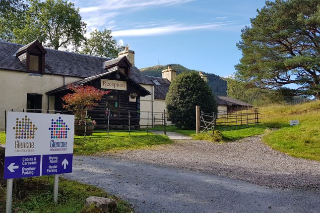 Thumbnail Leisure/hospitality for sale in Glencoe Independent Hostel, Bunkhouse, Cabins & Caravans, Near Ballachulish, Argyll