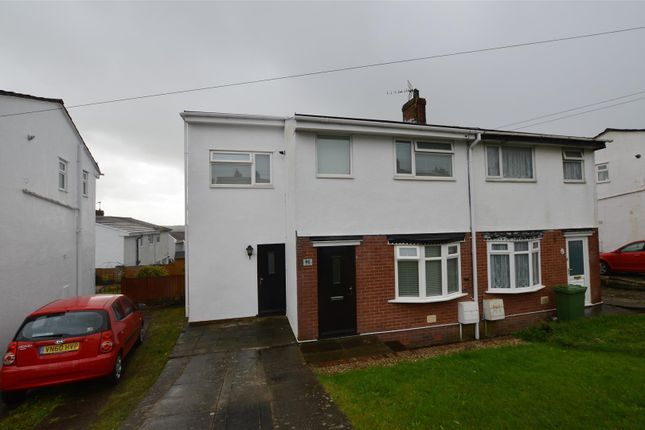 Thumbnail Semi-detached house for sale in Meadow Rise, Brynna, Pontyclun