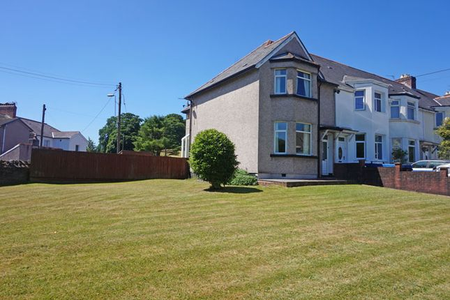 Thumbnail End terrace house for sale in Duffryn Street, Ystrad Mynach