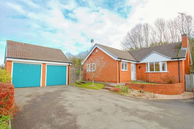 Thumbnail Detached bungalow for sale in Norbury Close, Church Hill North, Redditch, Worcs